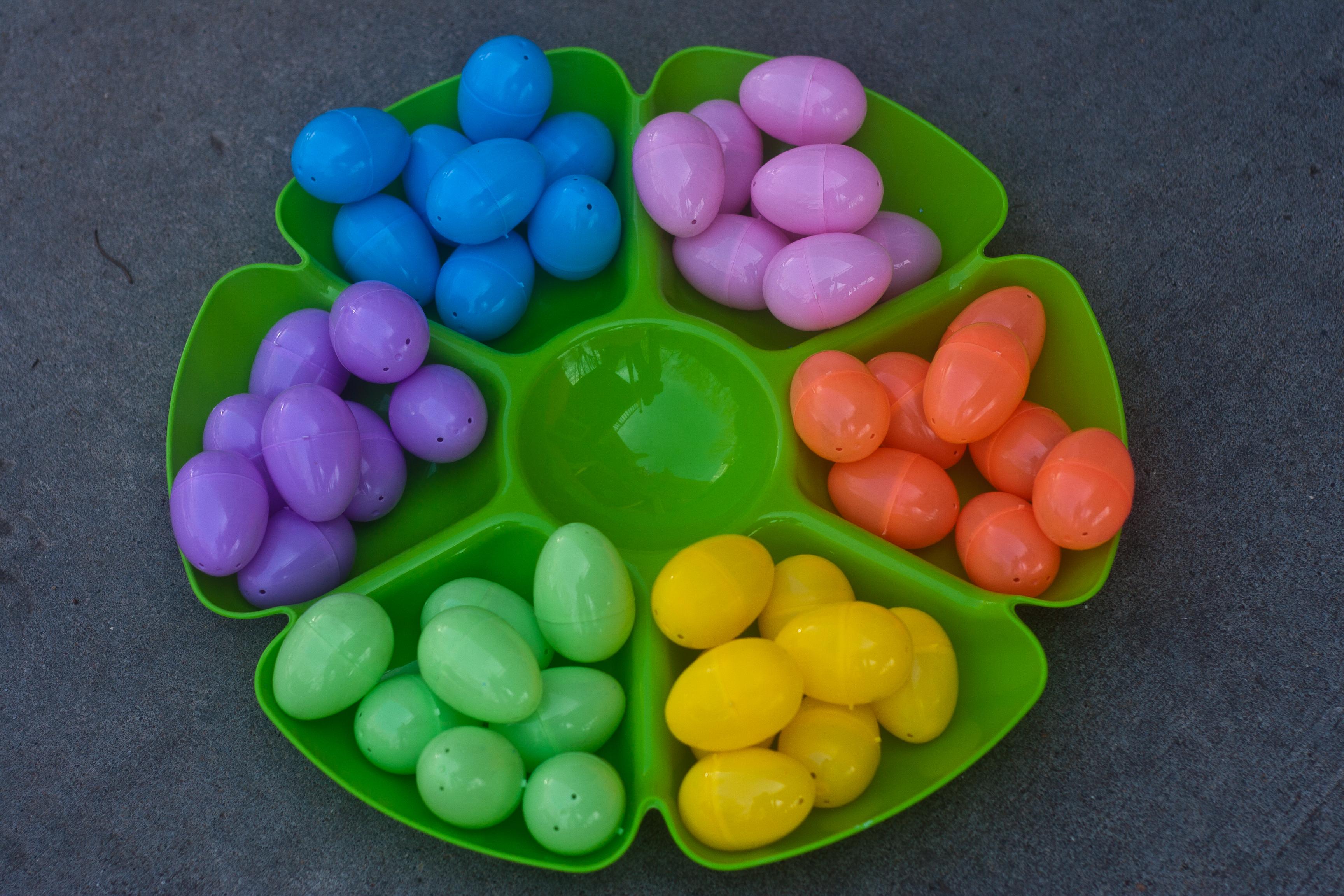 Invitations to Play: Plastic Eggs